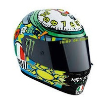 Casco Agv K-3 Top Wake Up Valentino 46 Moto Delta