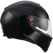 Casco Agv K-3 Sv Black Mate Moto Gp Incluye Visera Smoke