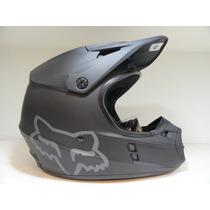Casco Fox V1 Negro Mate - Bondio Sport