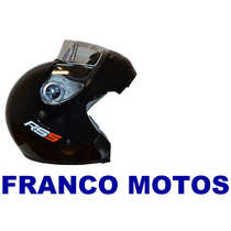 Casco Rebatible Hawk Halcon Rs5 2014 Lisos Franco Motos