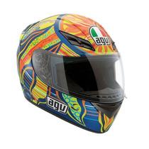 Casco Integral Agv K-3 Top 5 Continents Valentino Rossi