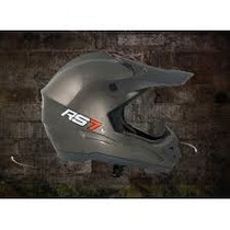 Casco Cross Hawk Rs7 Negro Mate Homolagado Talles Varios
