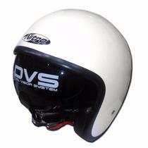 Casco Nitro X581 Doble Visor Cafe Racer Bobber En Fas Motos!