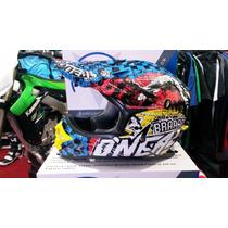 Casco Oneal 3 Series Mx Motocross Enduro Atv Qpg Team