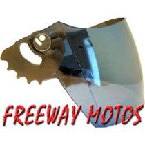 Visor Casco Zeus 802 Transparente En Freeway Motos !
