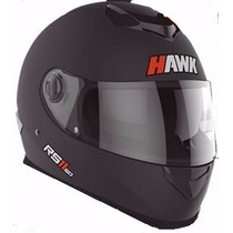 Casco Integral Doble Visor Hawk Rs 11 Negro Mate Devotobikes