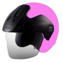 Casco Abierto Cid Aero 3 Color Rosa Talle L