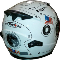 Casco Shiro Sh821 Nasa Super Edicion Limitada Devotobikes