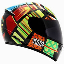 Casco Agv K-3 Sv Elements Rossi Moto Gp Incluye Visera Smoke