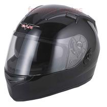 Casco V Can V122 Doble Visor Negro En Freeway Motos!