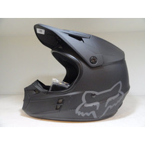 Casco Fox Head V1 Motocross Negro Matte Black Helmet