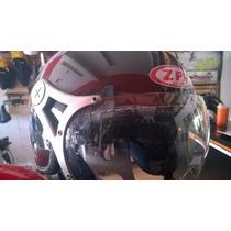 Casco Abierto Tipo Piloto Zpf. Excelente Para Verano!!