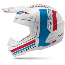 Casco Evs T5 Rally 2015 Motocross Atv Quads Fundasmoto
