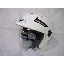 Casco Fly Abierto Con Visor Motos March