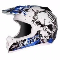 Casco Cross Alltop - M.s.b-