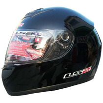 Casco Ls2 Modelo Single Mono Ff350 Gloss Black Brillante !!!