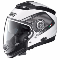 Casco Nolan N44 Tech Crossover Blanco Desmontable