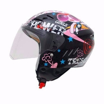 Casco Moto Abierto Shiro Sh20 Tres Chicas Mujer Devotobikes