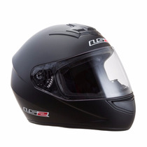 Casco Integral Ls2 Single Mono Ff350.75 Mate Urquiza Motos