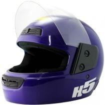 Oferta Casco Halcon H5 Azul Talle Xl Xpromotos
