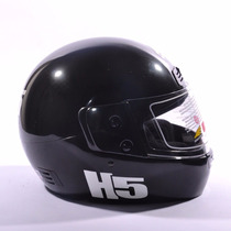 Casco Integral Halcon H5 Negro Urquiza Motos