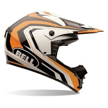 Casco Cross Enduro Bell Sx-1 Storm Orange Agen. Oficial Bell