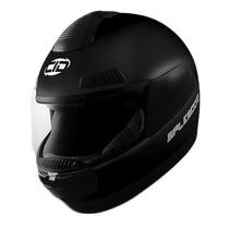 Casco Moto Cid Splendor Nacional Reforzado Negro