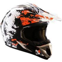 Casco Cross Enduro Ls2 Mx433 Blast Orange Solo En Fas Motos!