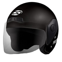 Casco Moto Cid Aero 2 Con Visor Color Negro Mate Nacional