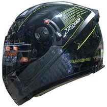 Casco Shiro Sh3700 R15 D/visor A/gama V/negro Freeway Motos