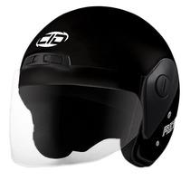 Casco Moto Cid Aero 2 Con Visor Negro Brillo Talle X X L