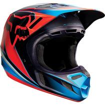 Cascos Fox V4 Red 2015 Motocross Dirtbike