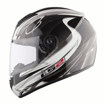 Casco Ls2 Diamond 2 Nuevo Mode 2014 Gloss White Devotobikes