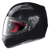 Casco Nolan Integral Pista N64 Smart Negro Brillo Moto Sur