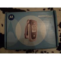 Caja Y Accesorios Originales Para Motorola V360