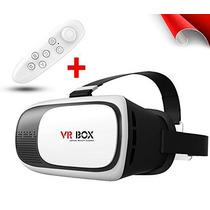 Vr Box 2ª Gen Realidad Virtual Lentes Cardboard + Gamepad!!!