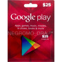 Google Play U$25 Por Cyber Monday Hot Sale - 12 Cuotas Fijas
