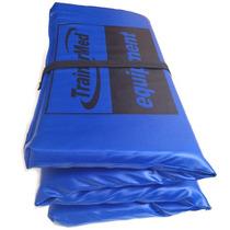Colchoneta Plegable 100x50x4 Lona Plastic Fabrica Trainermed