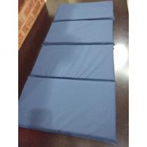 Colchoneta Plegable Gimnasia, Pilates 120x50x5cm Todo Lona