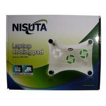 Base Para Notebook Nisuta 3 Cooler Con Luz
