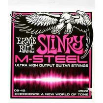 Encordado Ernie Ball Slinky M-steel, Fender Ibanez Gibson