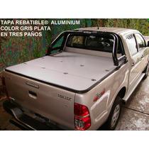 Tapas Rigidas Rebatibles® Aluminium Toyota X Metro Cuadrado