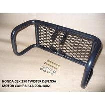 Defensa De Motor Con Rejilla Frontal Honda Twister Cbx 250