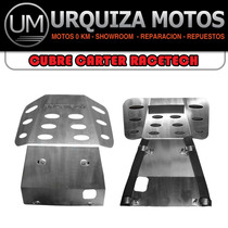 Cubre Carter De Aluminio Honda Nx 400 Falcon Um!!