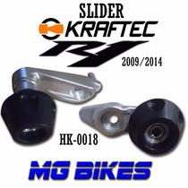 Sliders Laterales Kraftec Yamaha R1 2009 12 Mg Bikes