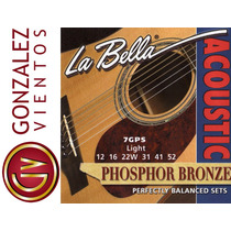 Encordado La Bella Guitarra Acustica (electroacustica) Bf