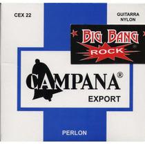 Encordado Campana Export Perlon Entorchadas Plateadas