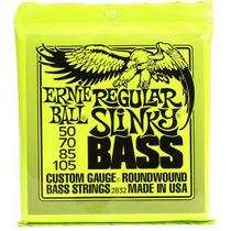 Encordado Cuerdas Bajo Ernie Ball 2832 Regular Slinky 50-105