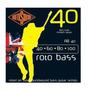 Rotosound Rb 40 Encordado Para Bajo 4 Cuerdas Audiomasmusica