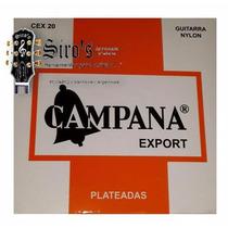 Encordado Cuerdas Campana Export Plata P Guitarra Criolla